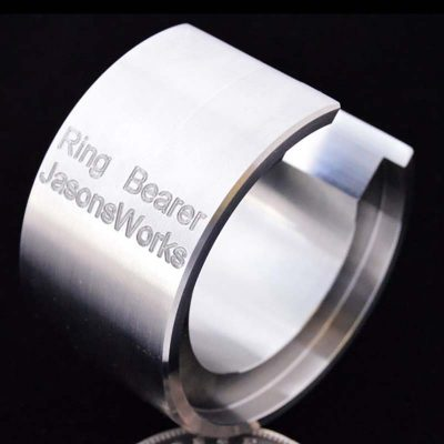 Coin Ring Bearer Used with Swedish Wrap dies - Jason's Works
