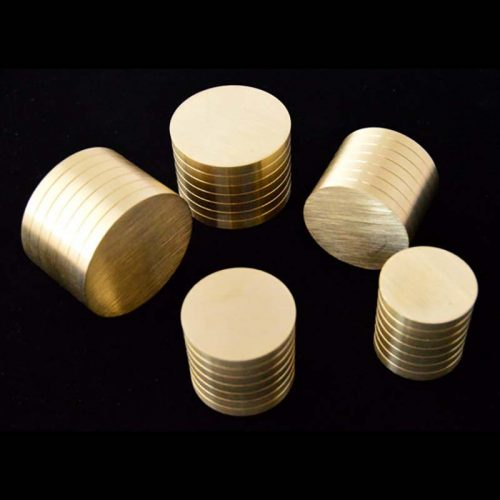 Coin Ring Brass Plungers (Swedish Die Replacement) - Jason's Works
