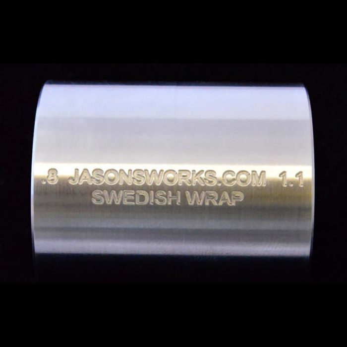 .8 x 1.1 Swedish Wrap Kit for Half Dollar Sized Coins and the Smallest Dollar Sized Coins