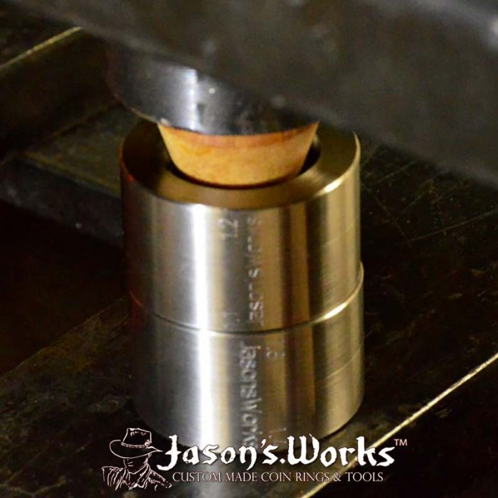 stabilizing folding mandrel coin ring tools jasons works
