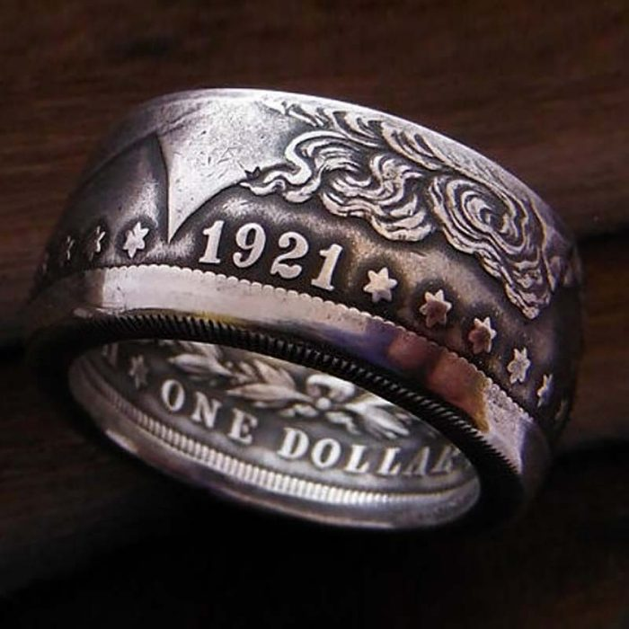USA Coin Rings Online - Morgan Silver Dollar Coin Ring - Jason's Works
