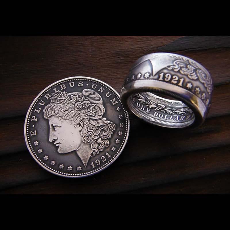 Usa Coin Rings Online Morgan Silver Dollar Coin Ring