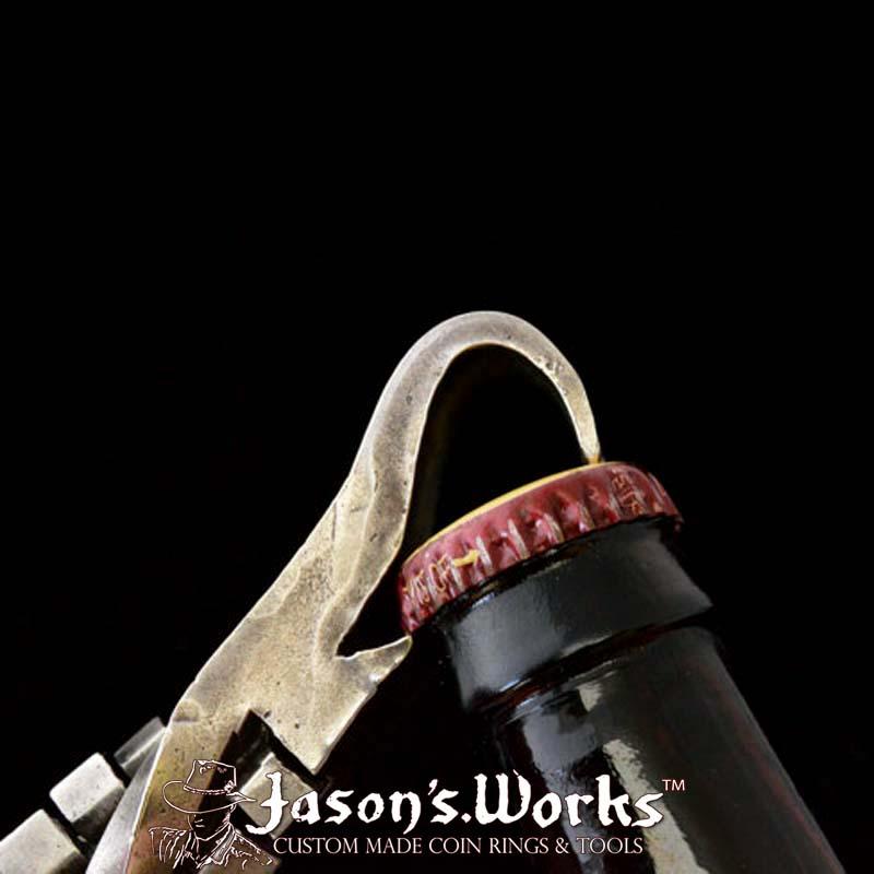 Railroad Spike Bottle Opener 1