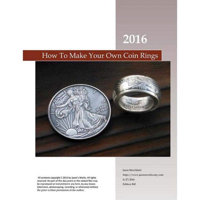 Swedish Wrap Technique Coin Ring Training Manual - Jason's Works