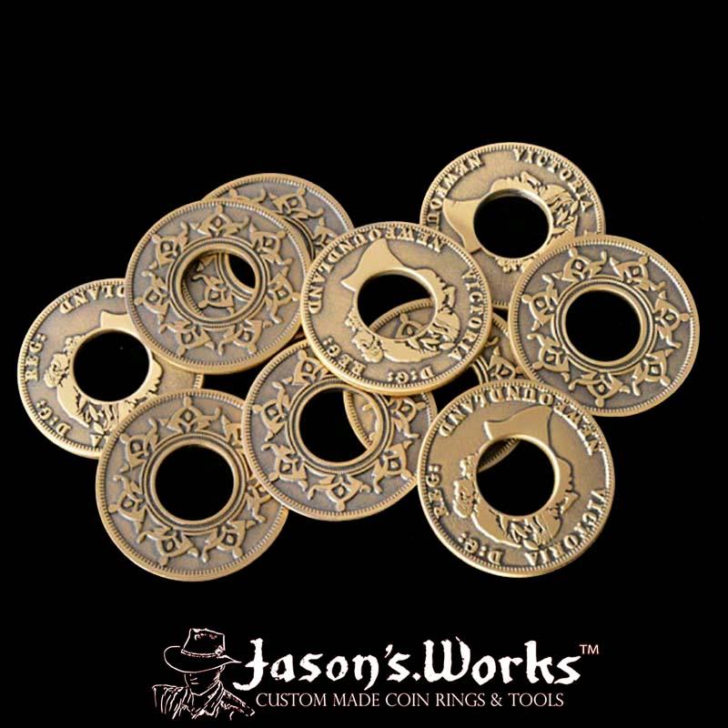 Newfoundland Replica Coin Ring Blanks