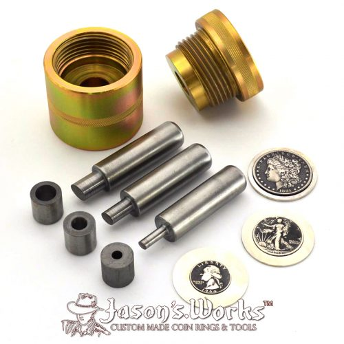 Coin Ring Punch Kit & Die Set - Coin Ring Tools - Jason's Works