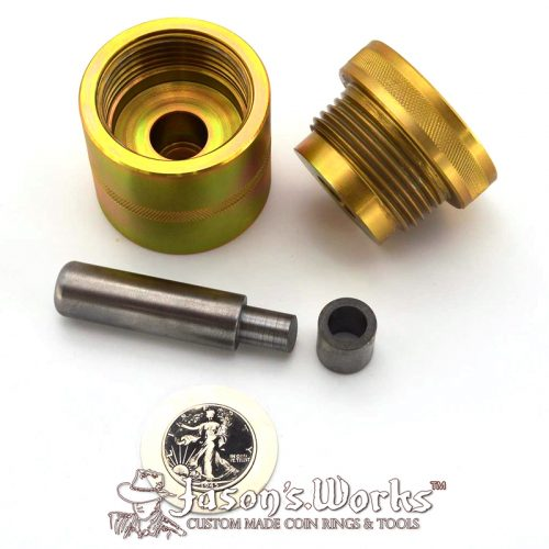 Coin Ring Punch Kit (Self Centering) - Coin Ring Tools - Jason's Works