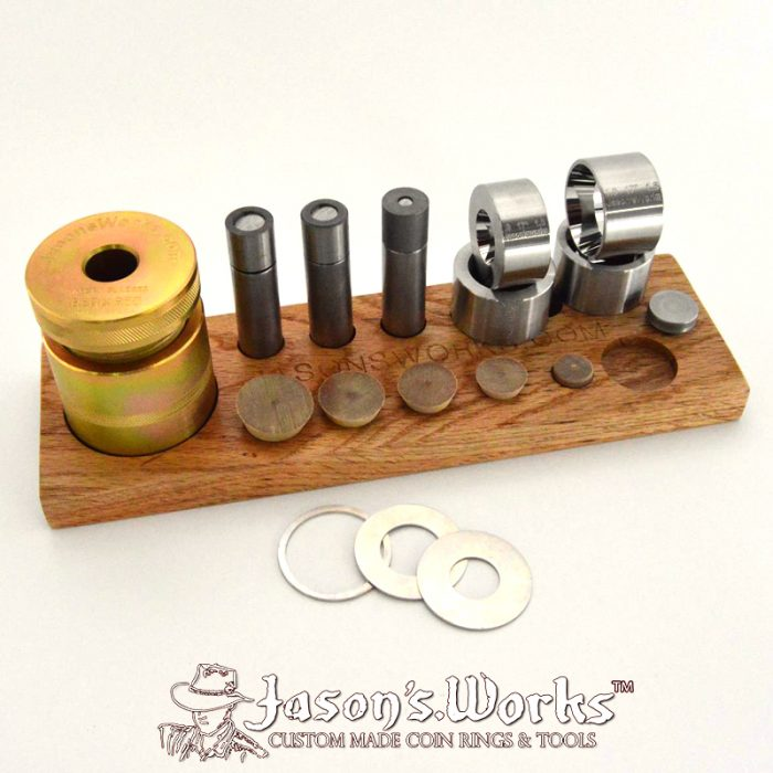 Classic Coin Ring Starter Kit - Coin Ring Tools - Jason's Works