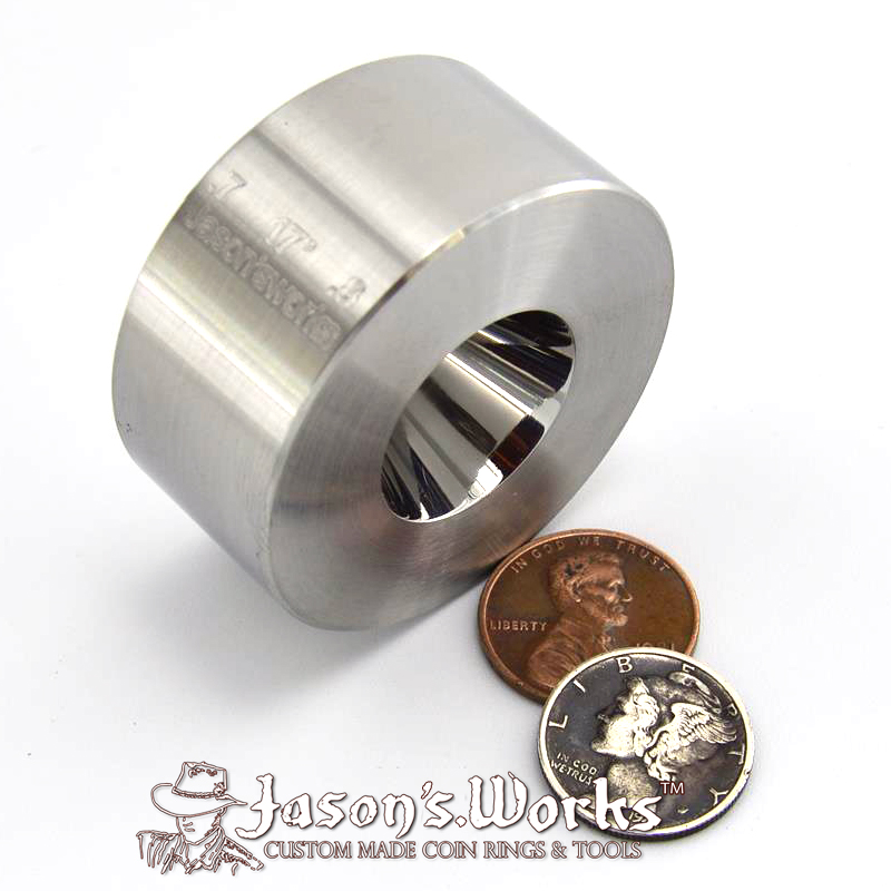 "One Universal Folding/Reduction Die Hardened Stainless Steel .7"" through 1.6"" @ 17 degrees"
