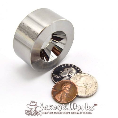 Fat Tire Look Reduction Die - Coin Ring Tools - Jason's Works