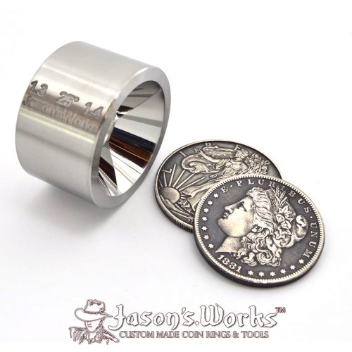 Coin Ring Folding Die - Coin Ring Making Tools - Jason's Works
