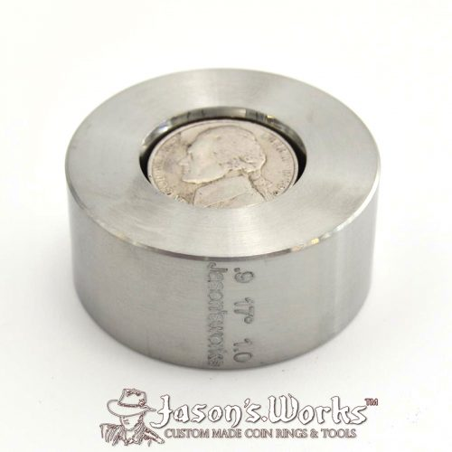 """One Universal Folding/Reduction Die Hardened Stainless Steel .9"""" x 1.0"""" @ 17 degrees"""