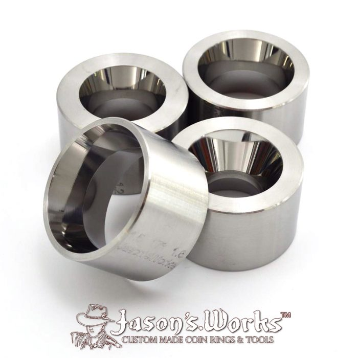 Coin Ring Reduction Die (4 Pack) - Coin Ring Tools - Jason's Works