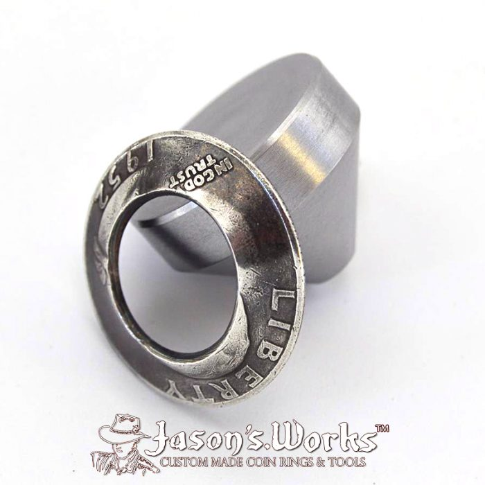 Universal Starter Cone (Stainless Steel) - Coin Ring Tools - Jason's Works