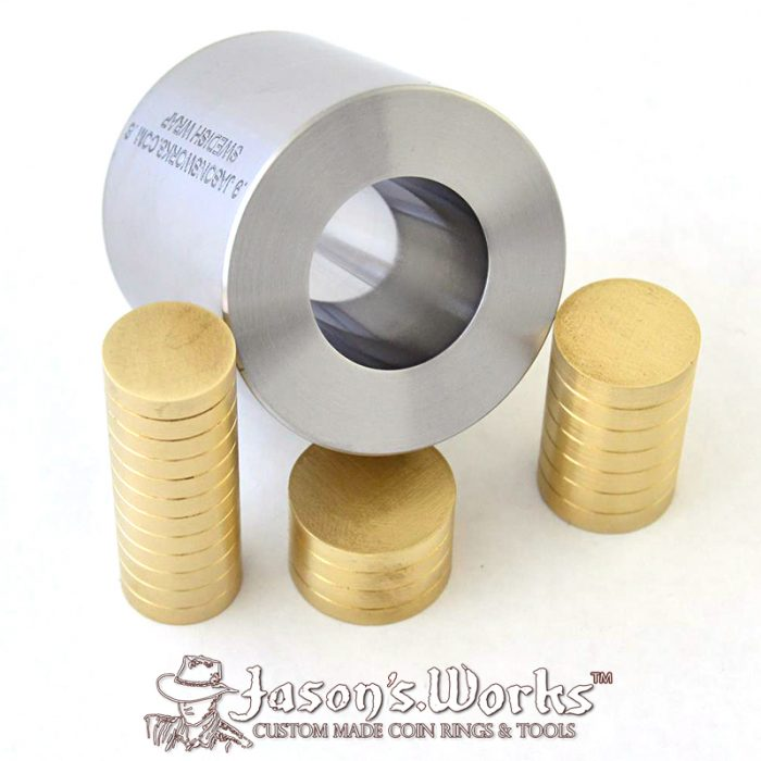 Coin Ring Swedish Wrap Kit Quarter & Dime Sized Coins - Jason's Works