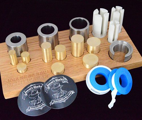 Master Swedish Wrap Tool Holder - Jason's Works - Coin Ring Tools