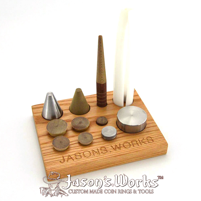 USA Coin Ring Tools - Folding & Stretching Kit - Jason's Works